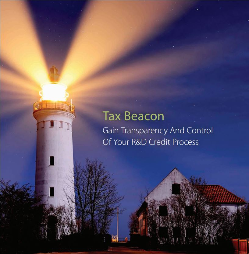 Gain Transparency And Control Of Your R&D Credit Process with CTI's Proprietary Software, Tax Beacon.